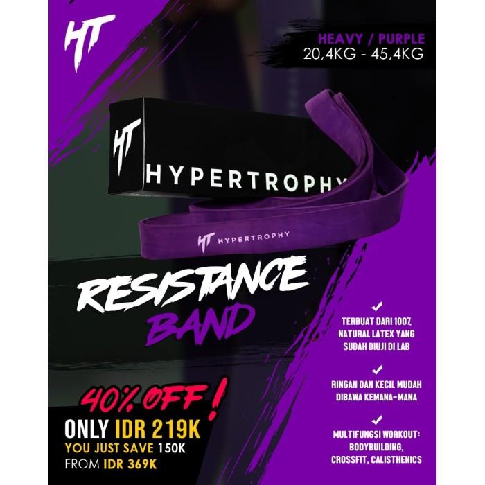 Foto Produk Alat Fitness Resistance / Power Band - (45-100 pounds / 20.4-45.4kg) dari Hypertrophy