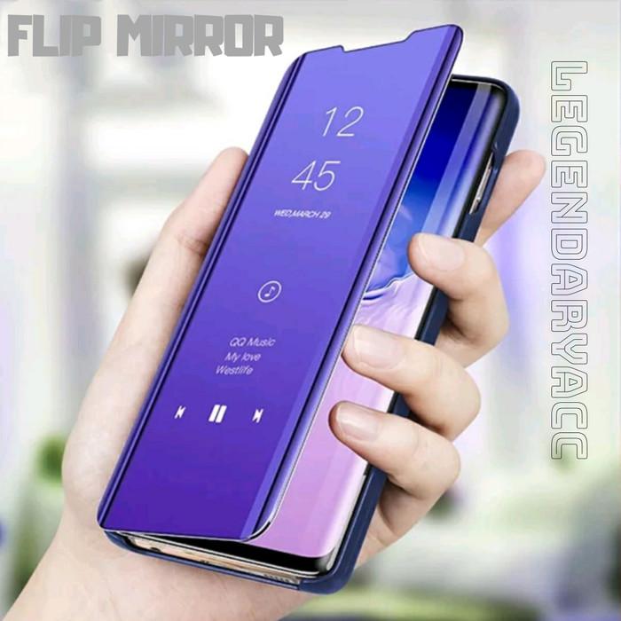 Foto Produk flip case VIVO V15 2019 Case Clear View Mirror Standing Cover dari LegendaryACC