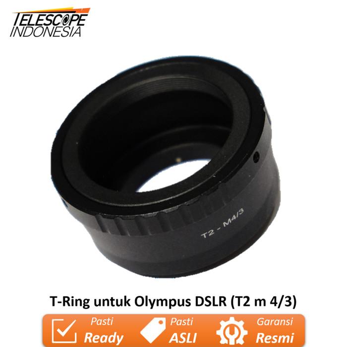 Foto Produk T-Ring untuk Olympus DSLR (T2 m 4/3) dari TelescopeIndonesia