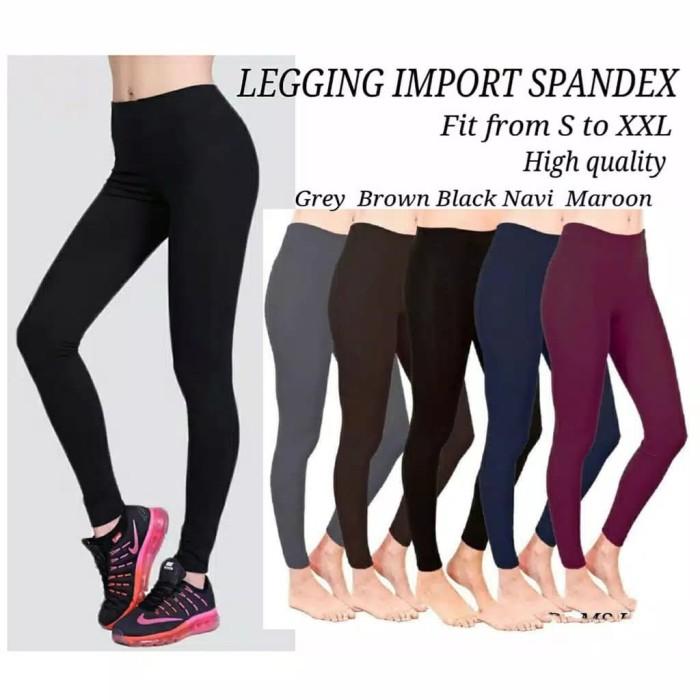 Jual Legging Polos Import Legging List Import Celana Legging Wanita Ter Jakarta Barat Asnad Olshop Tokopedia