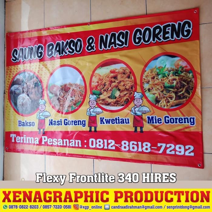 Banner Mie Ayam Dan Bakso Cdr - gambar spanduk