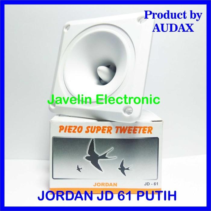 Foto Produk Tweeter Jordan JD 61 Putih / JD61 White Tweeter Walet Inap by Audax Ax dari Javelin Electronic