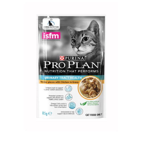 Foto Produk pro plan 85 gr cat urinary tract tender pieces with chicken in gravy dari F.J. Pet Shop