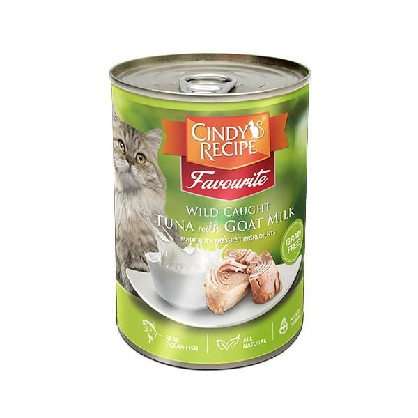 Foto Produk cindys recipe 400 gr cat wild caught tuna with goat milk dari F.J. Pet Shop