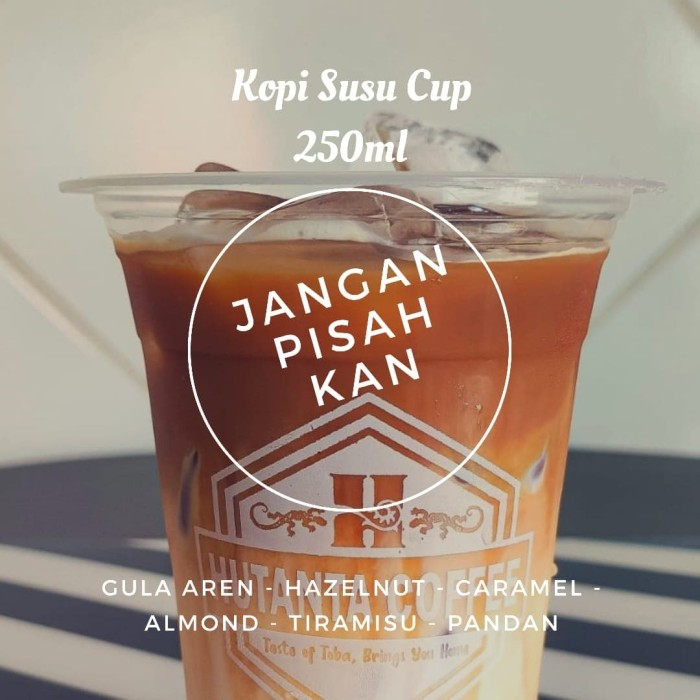 Foto Produk Kopi Jangan Pisahkan Cup - khusus grab/gojek - Gula Aren dari Hutanta