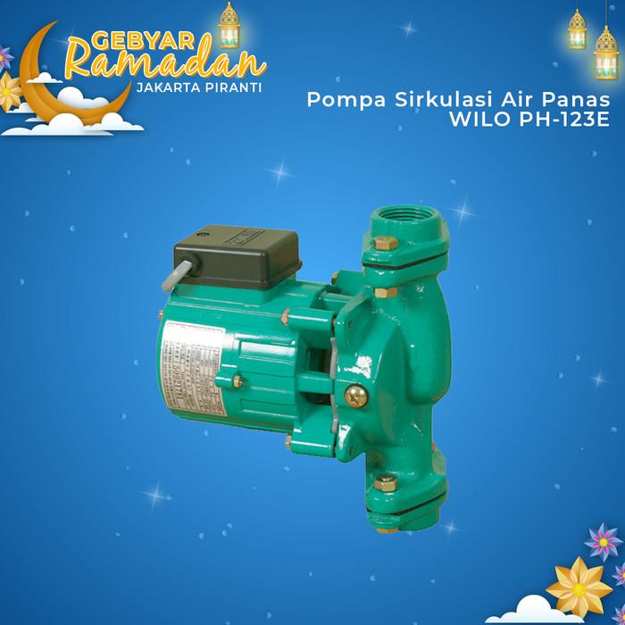 Jual Mesin Pompa Sirkulasi Air Panas WILO PH-123E Hot ...