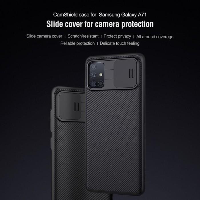 Foto Produk Samsung A71 2020 Hard Case Nilkin Nillkin Camshield Series Original dari SmartBuy-Mart