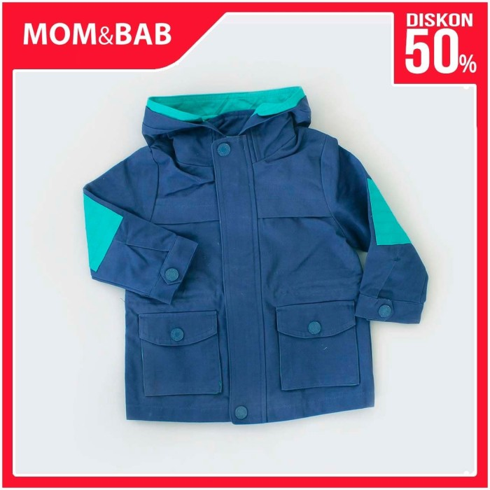 Foto Produk Mom n Bab Jacket Hoodie Blue Green - 12 Bulan dari Mom n Bab