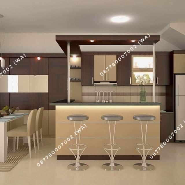 Jual Kitchen Set Minibar Mewah Harga Ramah Di Purwokerto Banyumas Kab Banyumas Interior Kitchen Set Tokopedia