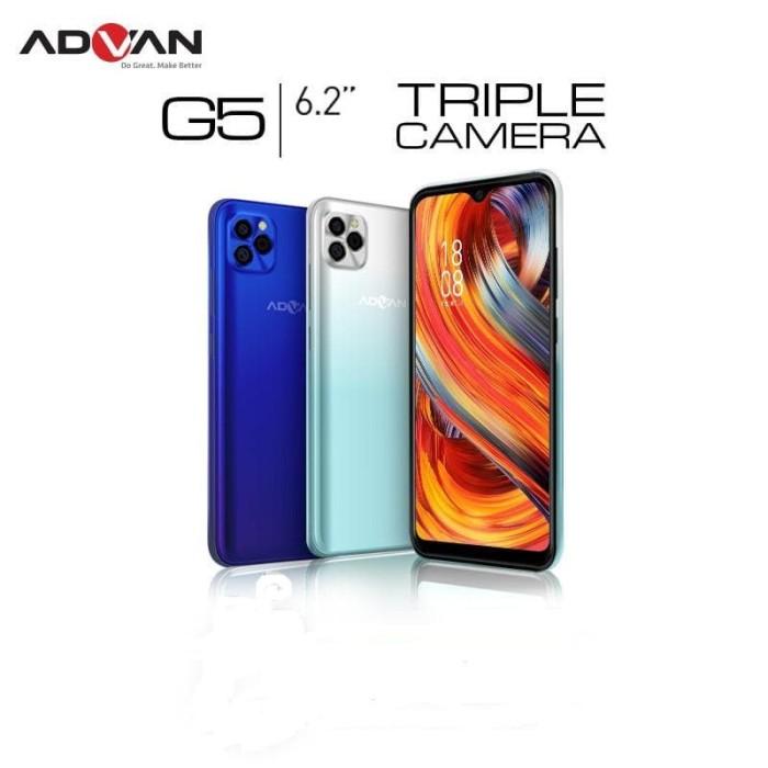Foto Produk Advan G5 4/32 Ram 4GB Internal 32GB Garansi Resmi 1 Tahun - Biru dari dk-cell