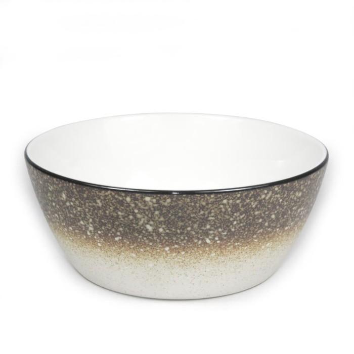 Foto Produk Artisan Ceramic | Rice Snow Accenti Bowl| Mangkok Keramik dari Artisan Ceramic