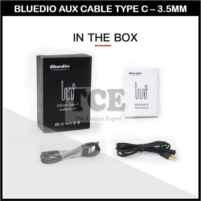 Foto Produk Bluedio Audio Cable Kabel Aux 3.5mm Type C Original - TanpaBox dari TCE