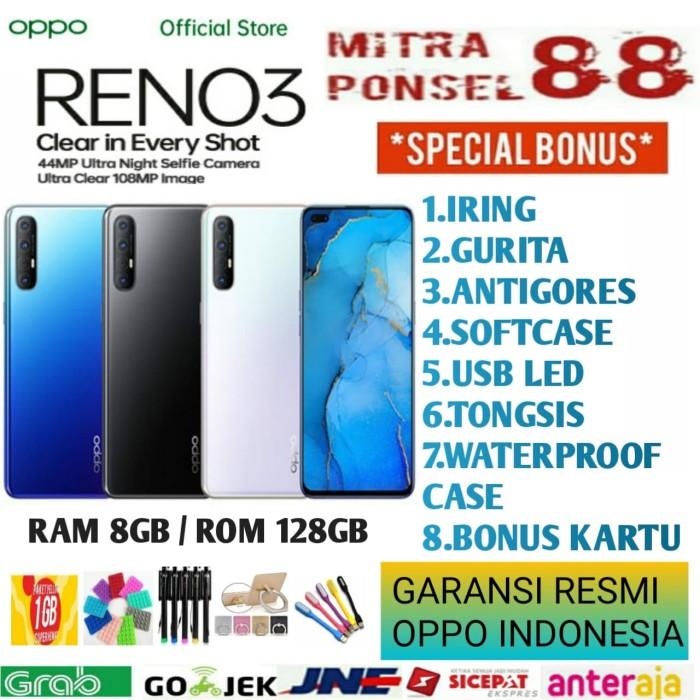Foto Produk OPPO RENO 3 RAM 8/128 GARANSI RESMI OPPO INDONESIA - Putih dari Mitra Ponsel 88