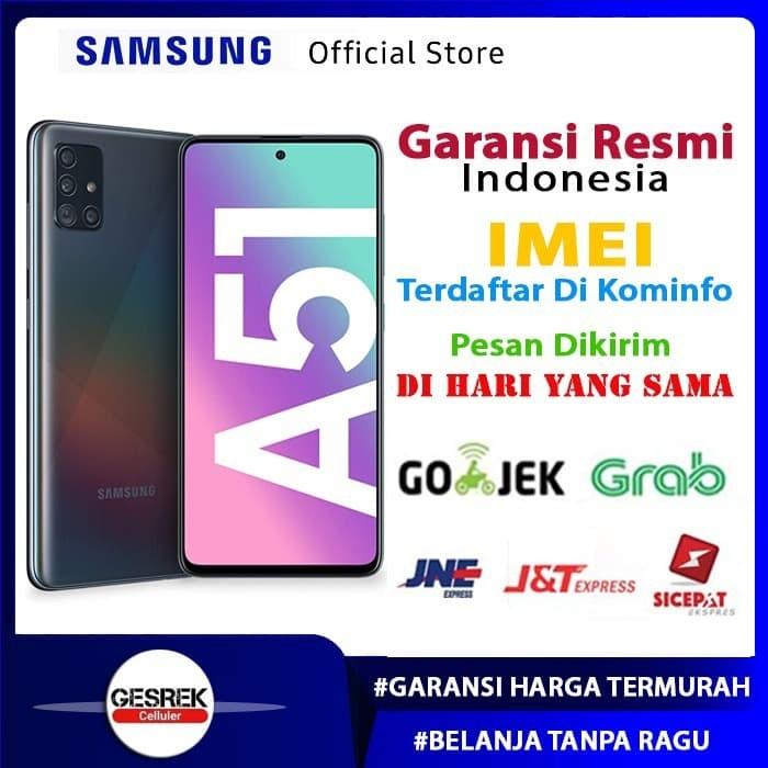 Foto Produk Samsung A51 - Garansi RESMI SEIN - Putih dari Gesrek Phone
