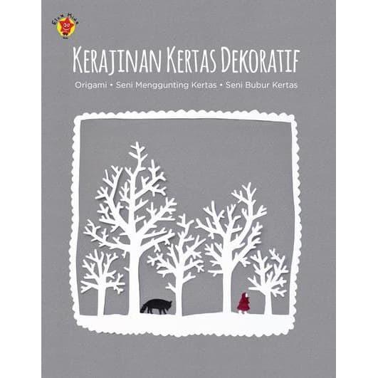 Foto Produk [Buku] Kerajinan Kertas Dekoratif dari ombotak