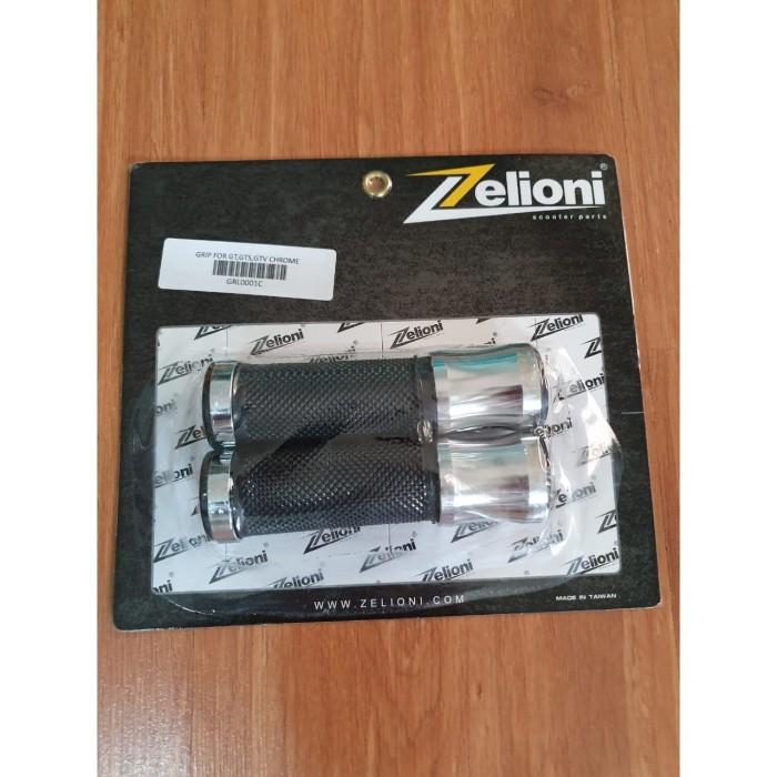 Foto Produk Zelioni Hand Grip Vespa GTS Chrome dari Gaya Motor Baru
