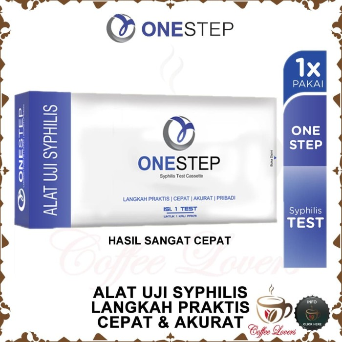 Foto Produk ONESTEP SYPHILIS TEST CASSETTE ALAT UJI SYPHILIS dari Coffee Lovers
