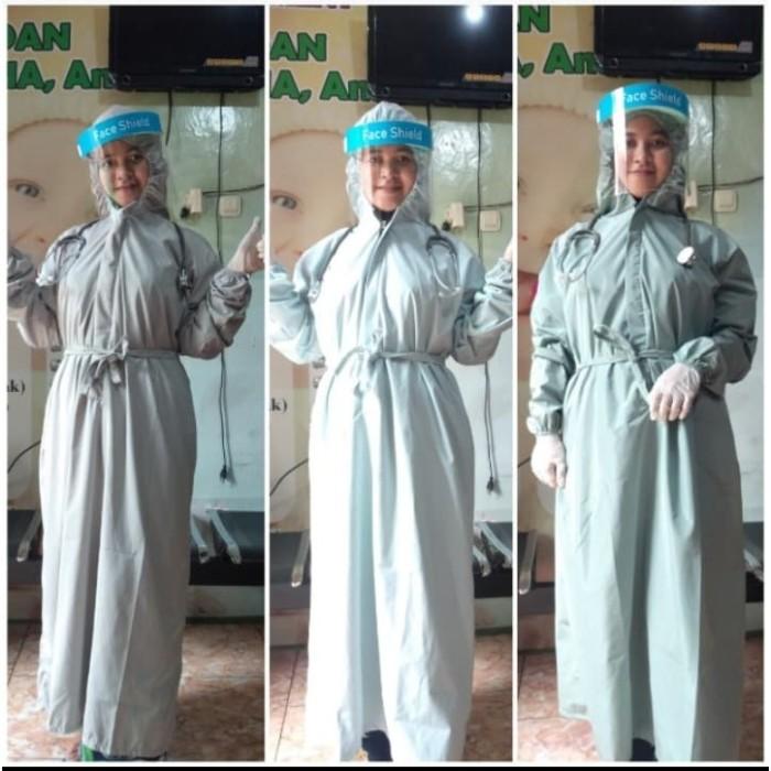 Foto Produk APD OK hoodie gaun bedah disposable parasut impor bisa dicuci anti air dari pusat grosir netizen