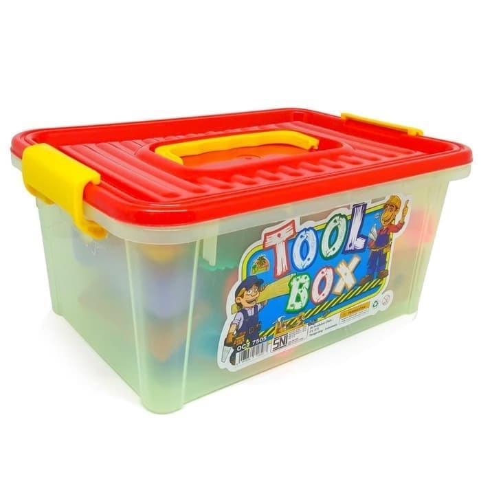 Foto Produk Mainan Anak Laki Laki Tukang Tukangan Tool Box OCT 7505 dari Tjokrosolution
