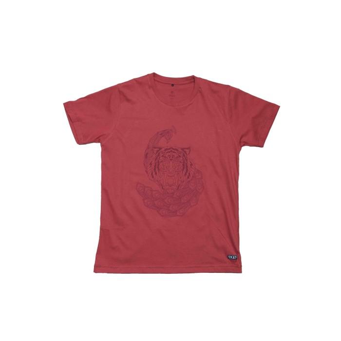 Foto Produk Kaos DGD Indonesia - Reog Ponorogo - Merah, M dari DGD INDONESIA