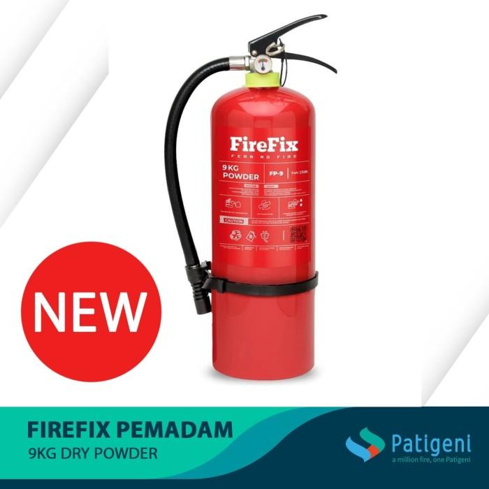 Foto Produk FIREFIX FP9 Powder 9 Kg Tabung Alat Pemadam Api Ringan APAR Kebakaran dari Patigeni Mitra Sejati