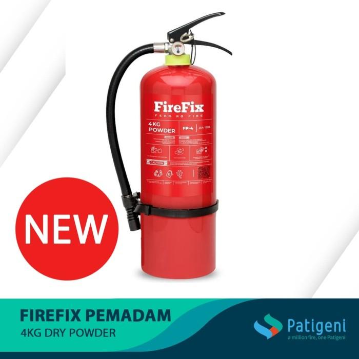 Foto Produk FIREFIX FP4 Powder 4 Kg Tabung Alat Pemadam Api Ringan APAR Kebakaran dari Patigeni Mitra Sejati