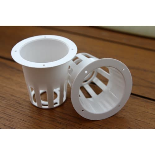 Foto Produk net pot keranjang putih net pot hidroponik halus netpot kangkung 5cm dari moriah_olshop
