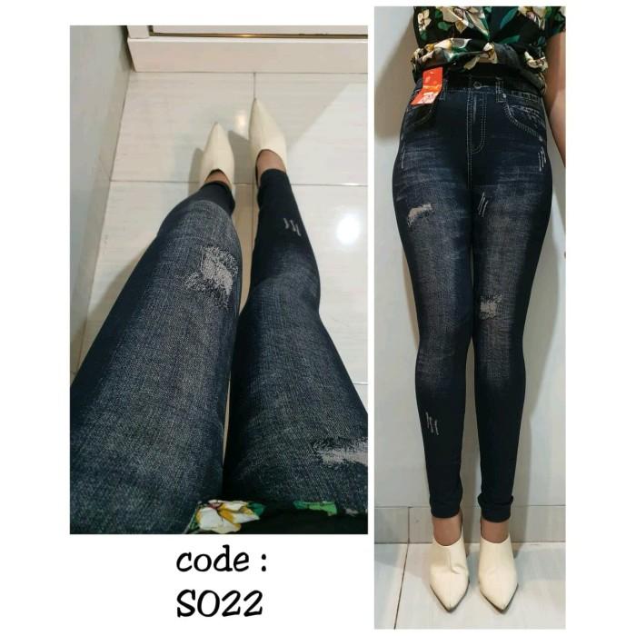 Jual Celana Legging Bahan Semi Jeans Murah Sis Jakarta Selatan Kios Syahid Tokopedia