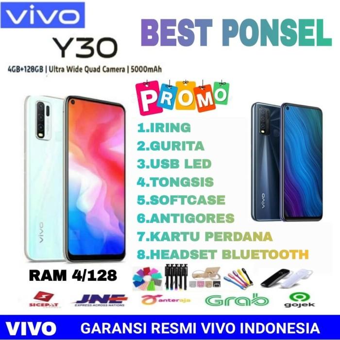 Foto Produk VIVO Y30 RAM 4/128 GARANSI RESMI VIVO INDONESIA - Black No Bonus dari BEST PONSEL