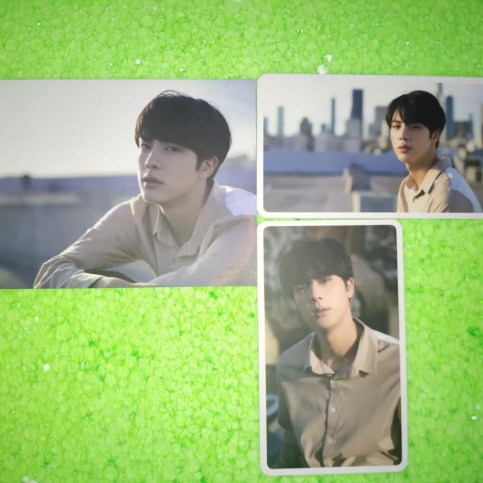 Jual Photacard Postcard Kim Seokjin Bts Official Kota Padang Heyooohe Tokopedia