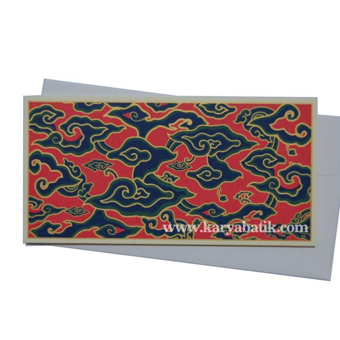 Jual Money Holder Premium Batik Mega Mendung Merah Hijau Kota Bekasi Batik76 Tokopedia