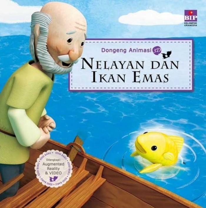 Gambar Nelayan Animasi Untuk Anak Sd Jual Bhua Seri Dongeng Animasi 3d Nelayan Dan Ikan Emas Buku Anak Kyowon Jakarta Barat Dv Bookstore Tokopedia