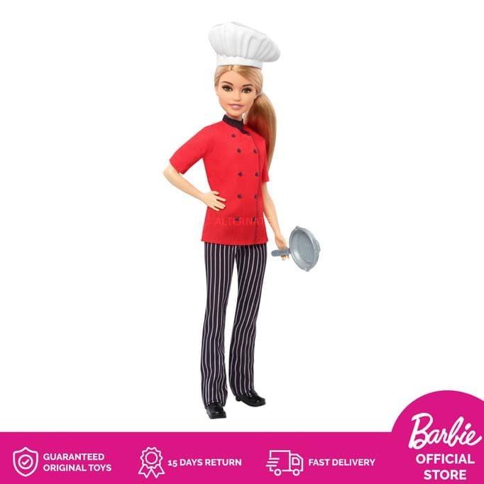 Jual Barbie Chef Doll Boneka Cantik Permainan Anak Perempuan Terjamin Jakarta Barat Puspita Ningrum2 Tokopedia