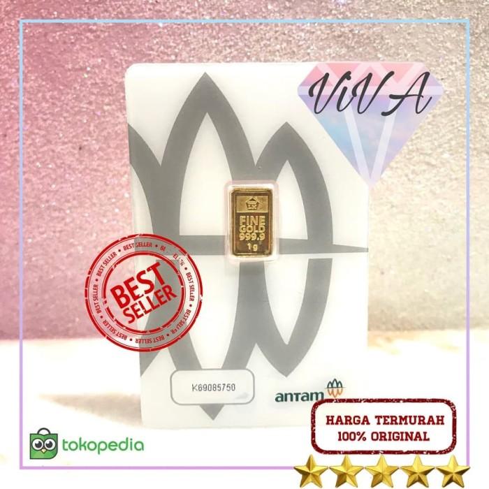 Foto Produk Logam Mulia Antam Certicard / Certieye 1 gr LM 999.9 dari Toko Mas Viva