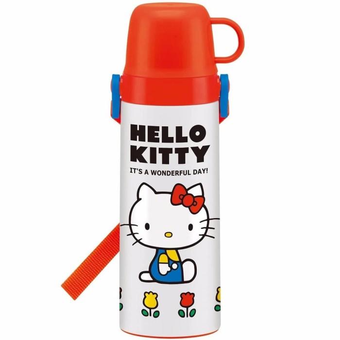 Foto Produk Botol Minum Termos Anak Sanrio Hello Kitty Stainless 600ml Jepang dari BabyBeba