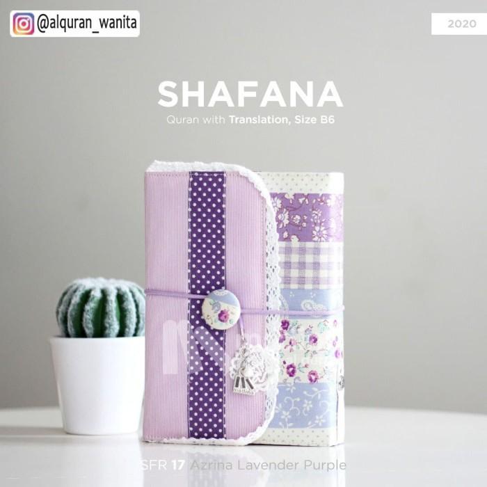 Foto Produk Quran Shafana Cover Ungu Muda Terjemahan Terbaru dari Souvenir Al Quran