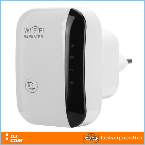 Foto Produk WIFI Repeater 300Mbps Wireless WiFi Signal Range Extender 802.11N/B/G dari DEMAK JAYA COM