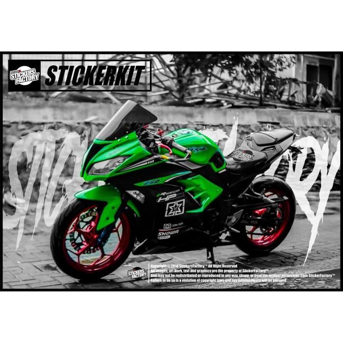 motorcycleluxury: harga body kit Kawasaki Ninja 250R