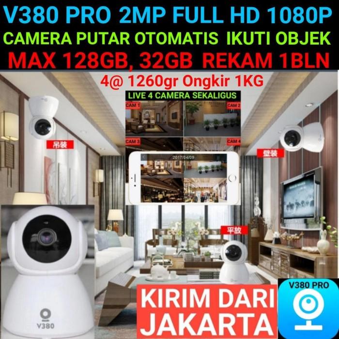 Foto Produk V380 Ip Camera Wireless 2Mp Full HD 1080p Cctv Mini Xiaomi Cctv Killer - TANPA MEMORY dari Oraki