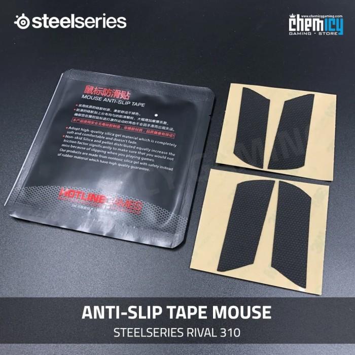 Foto Produk Hotline Anti Slip Mouse Tape Steelseries Rival 310 dari Chemicy Gaming