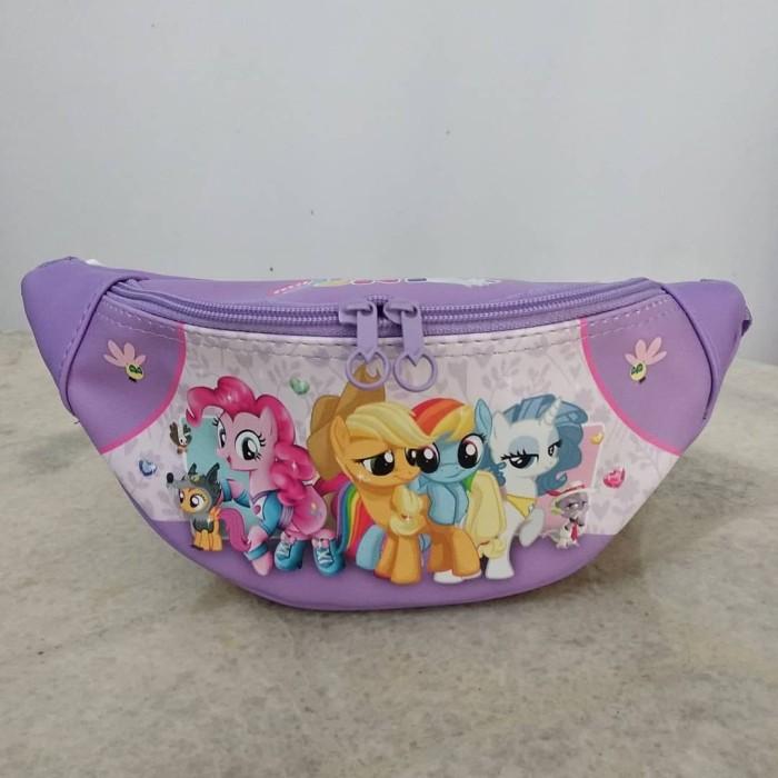 Jual Tas Pinggang Anak Waist Bag My Little Pony Kuda Poni Ungu Kota Bogor Lobi Lobi Tokopedia