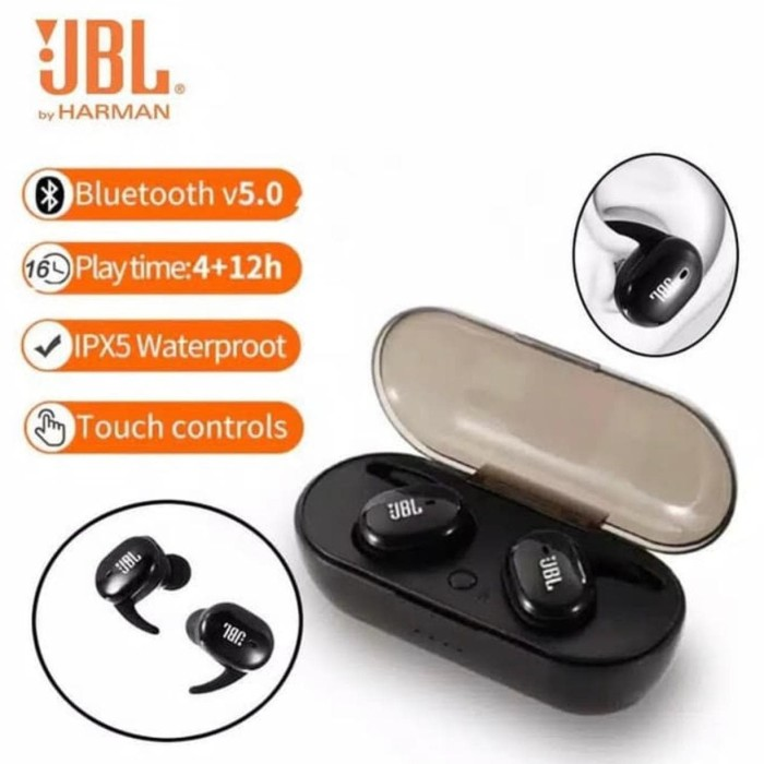 Jual Headset Bluetooth Jbl Tws 4 Earphone Wireless Stereo Jbl Tws 4 Sc Jakarta Utara Surya Cell Sparepart Tokopedia