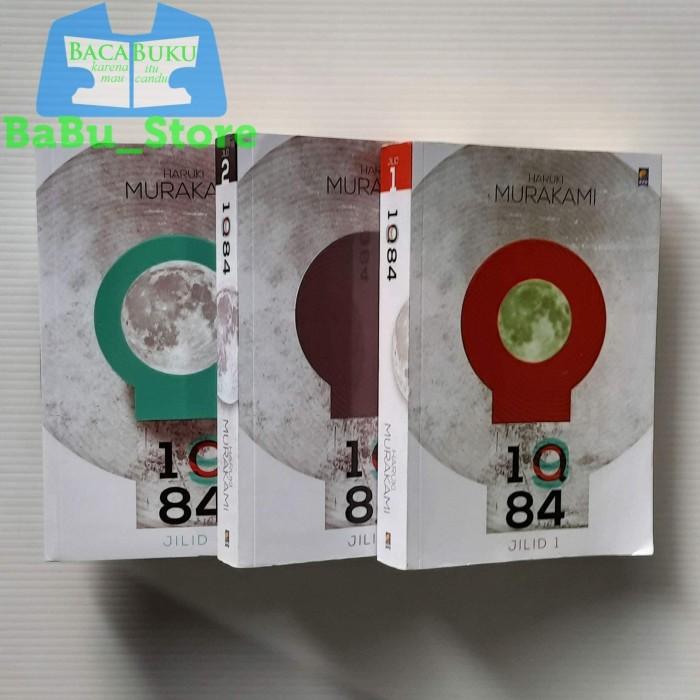Foto Produk Paket Set (3 jilid) 1Q84 Haruki Murakami Original dari BaBu Store