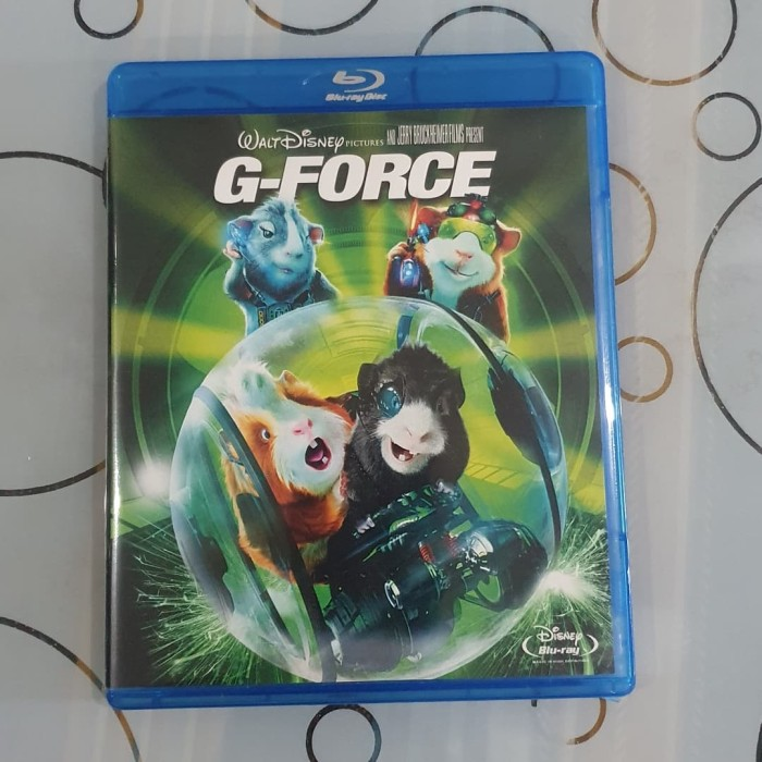 Jual Bluray Original Film G Force 2009 Blu Ray Teks Indonesia Used Kab Bandung Barat Anmas Collection Tokopedia