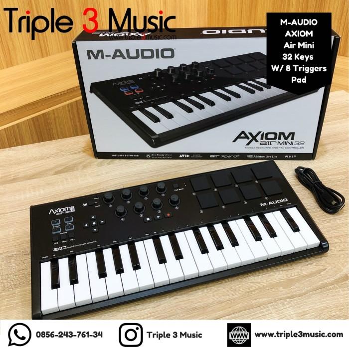 Foto Produk MAudio / m-audio Axiom AIR Mini 32 USB MIDI Keyboard Controller dari triple3music