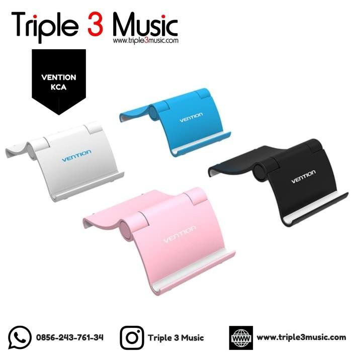 Foto Produk Vention KCA Phone Holder Stand Flexible Desk For Smartphone & Tablet dari triple3music