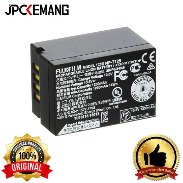 Foto Produk Fujifilm NP-T125 Rechargeable Lithium-Ion Battery dari JPCKemang