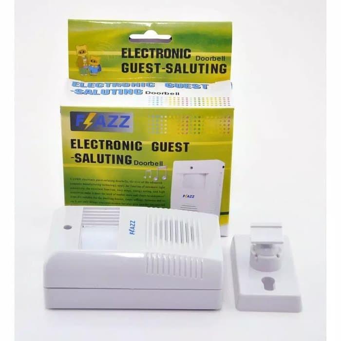 Foto Produk SENSOR Bel Pintu Sensor Gerak Flazz Electronic Guest Saluting Wireless dari grosirltc