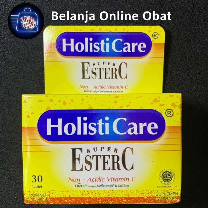 Foto Produk HOLISTICARE SUPER ESTER C ( 30 TABLET ) dari Belanja Online Obat