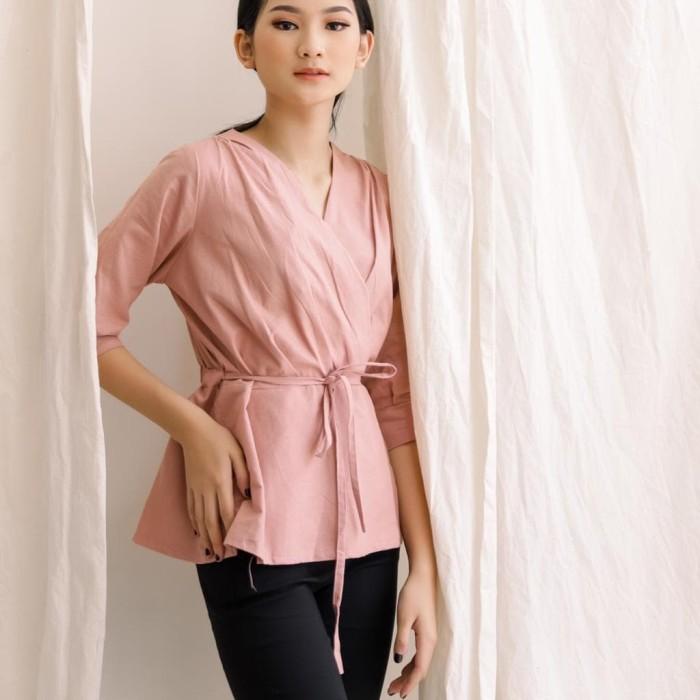 Foto Produk Less4More Giselle Top JUMBO - Pink dari Less for More
